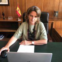 Ribera preside la reunión ministerial de la OCDE sobre recuperación verde