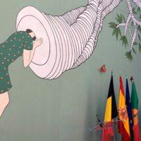 """""""Efecto Mariposa"""", arte español por el medio ambiente"""
