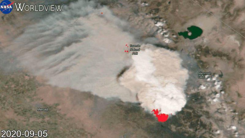 Los incendios de California generan un pirocúmulo de película