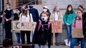 ONU, greta thunberg, manifestación, fridays for future