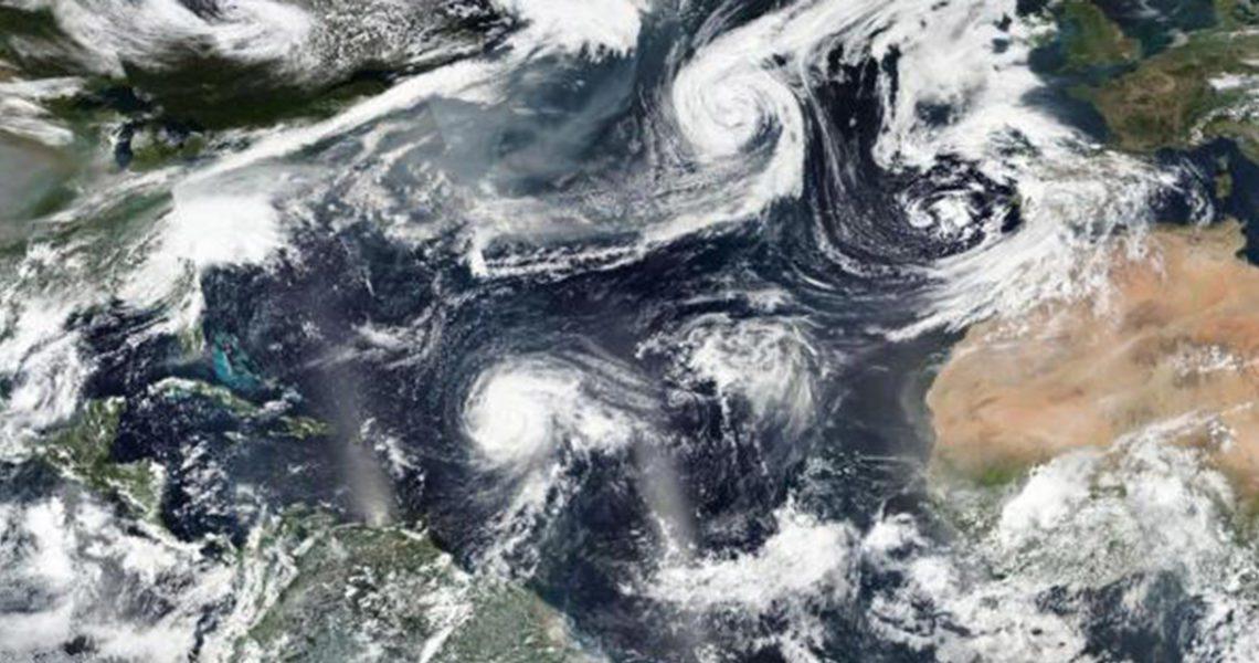 Los huracanes se acercan cada vez más al Mediterráneo