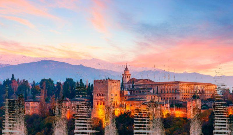 El agua en la Alhambra