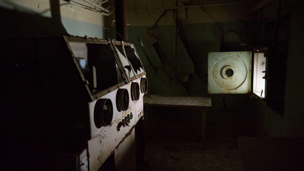 Laboratorio de armas biológicas abandonado en la planta de Aralsk-7, en la isla de Vozrozhdeniya, en el Mar de Aral. | FOTO: Ninurta