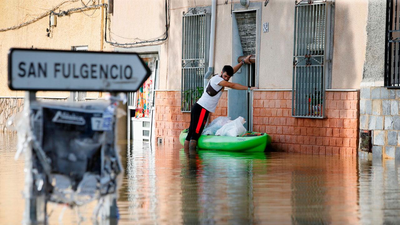 dana, aemet, almeria, alicante, valencia, inundacion, lluvias, temporal