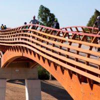Málaga presume de la mayor pasarela peatonal europea