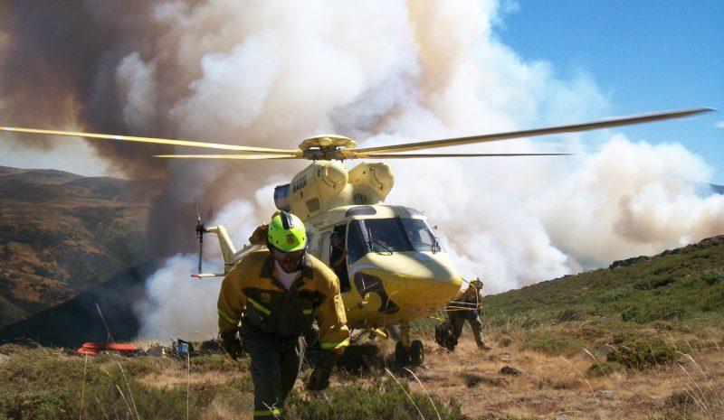 La superficie forestal quemada desciende un 21% en 2020