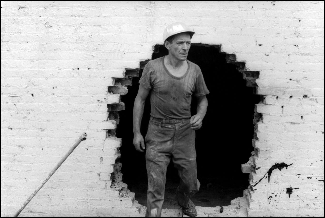 Danny Lyon, Operario de demolición, 1967. | Crédito: Danny Lyon/Magnum Photos