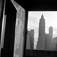 Cartografía de la demolición del bajo Manhattan por Danny Lyon