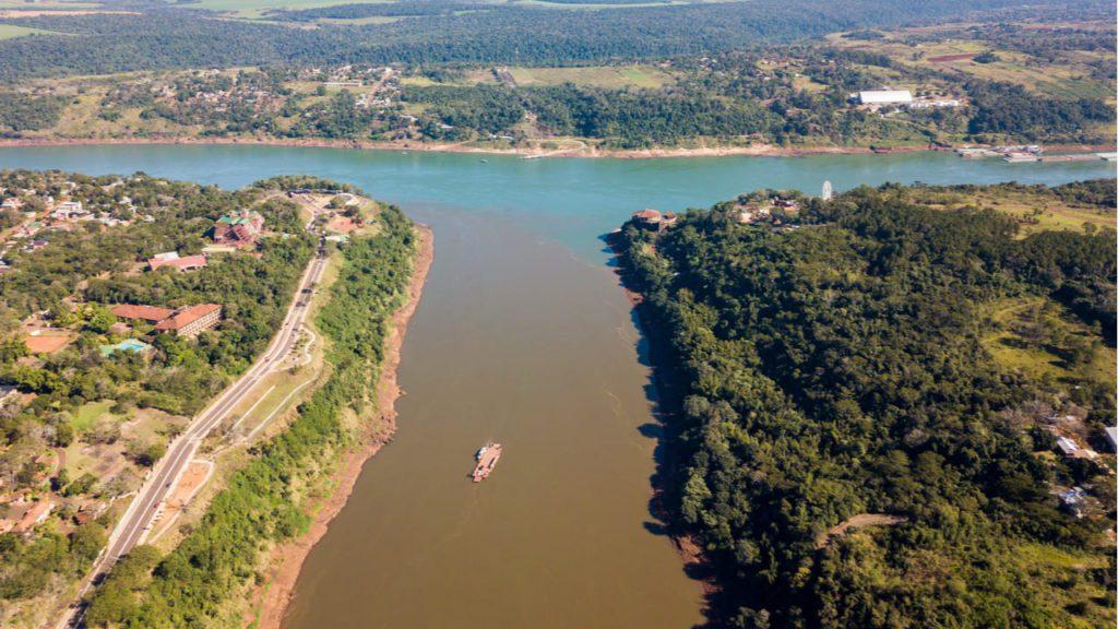ríos fronteras