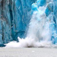 El deshielo de un glaciar amenaza con crear un mega tsunami