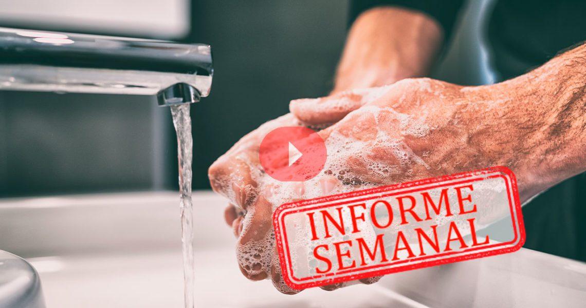 Agua y jabón para proteger la salud del planeta