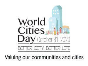 logo del dia mundial de las ciudades de 2020