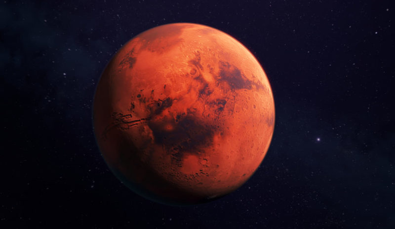 Encuentran reservas de agua en las zonas templadas de Marte
