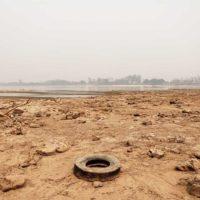 Una implacable sequía estrangula al río Paraguay
