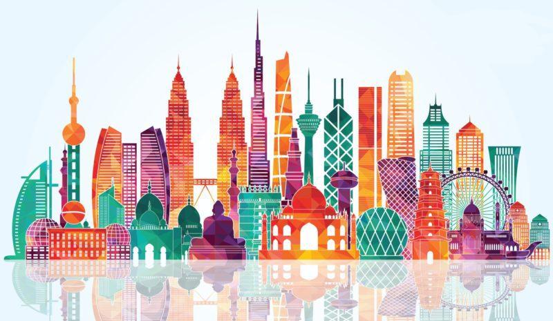 ¿Cuánto sabes sobre las ciudades de Asia?