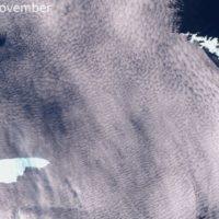 El iceberg más grande del mundo amenaza la isla de Georgia del Sur