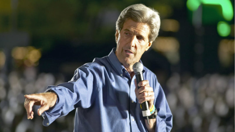 John Kerry, caballero andante del clima de EEUU
