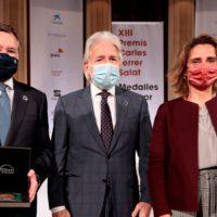Foment otorga a Ángel Simón, presidente de Agbar, la Medalla al Empresario del Año