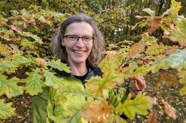 Anne Sverdrup-Thygeson, profesora noruega de Ciencias de la Vida y autora del libro de divulgación 'Terra insecta'. | FOTO: Håkon Sparre NMBU