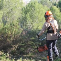 Aguas regeneradas contra incendios, proyecto pionero en Valencia que apoya la UE