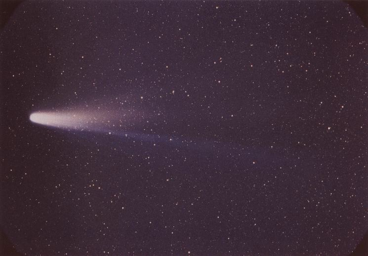 El cometa Halley, fotografiado el 8 de marzo de 1986 durante su último paso cerca de la Tierra. | FOTO: NASA/W. Liller - NSSDC's Photo Gallery (NASA