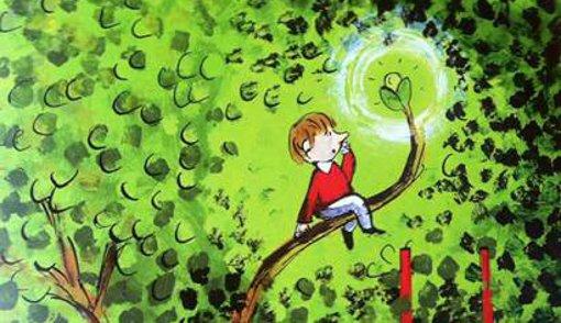 """Ilustración de Emilio Urberuaga para el libro """"El árbol de la escuela, de Antonio Sandoval."""