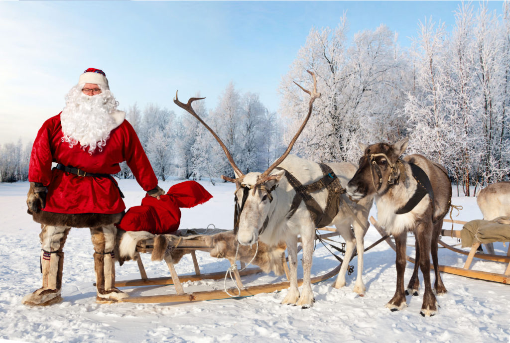 Las visitas a Santa Claus son un gran reclamo turístico en esta época del año   Foto: Vladimir Melnikov.   FOTO: Vladimir Melnikov