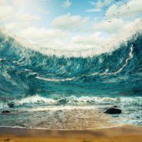 Un tsunami con olas de 40 metros barrió Israel hace 9.000 años