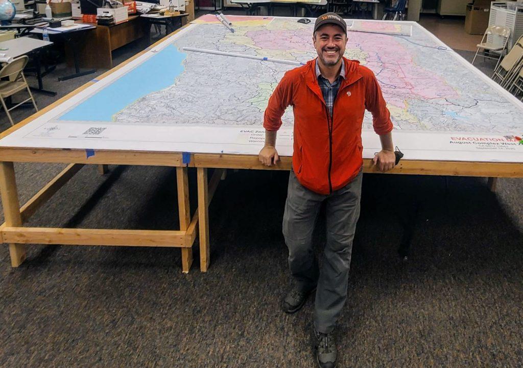 El ingeniero de Montes, Joaquín Ramírez, empresa que ha desarrollado un software para la predicción de incendios que emplea el Estado de Calilfornia y ha sido reconocida por el diario The New York Times como una de las mejores tecnologías de 2020
