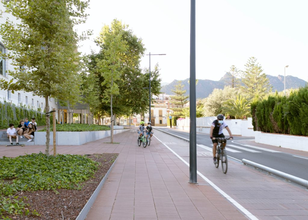Proyecto Life Cersuds de pavimento permeable en Benicàssim.