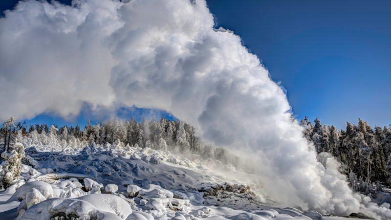 Despierta el géiser más grande de Yellowstone y del mundo… pero descartan una erupción