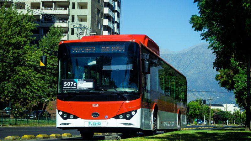 Chile lidera la entrada del transporte eléctrico en América Latina