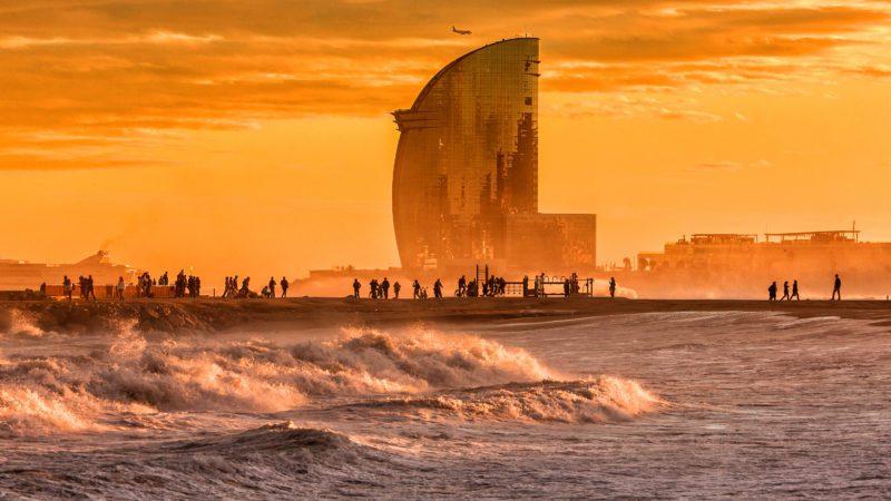 Barcelona vivió en 2020 el año más cálido desde que hay registros
