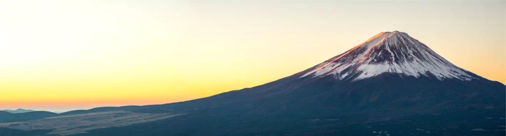 Vista invernal del monte Fuji en Japón.   FOTO: Vichie81