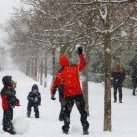 'Filomena' deja intensas nevadas en el interior peninsular