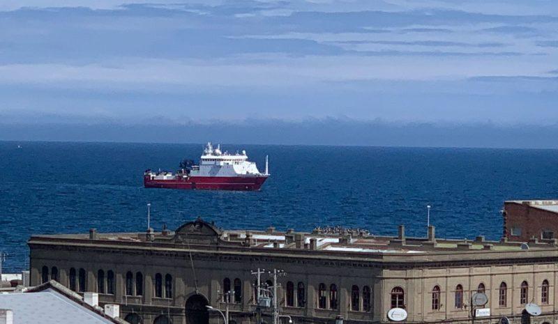 El buque oceanográfico 'Sarmiento de Gamboa' pone rumbo a la Antártida