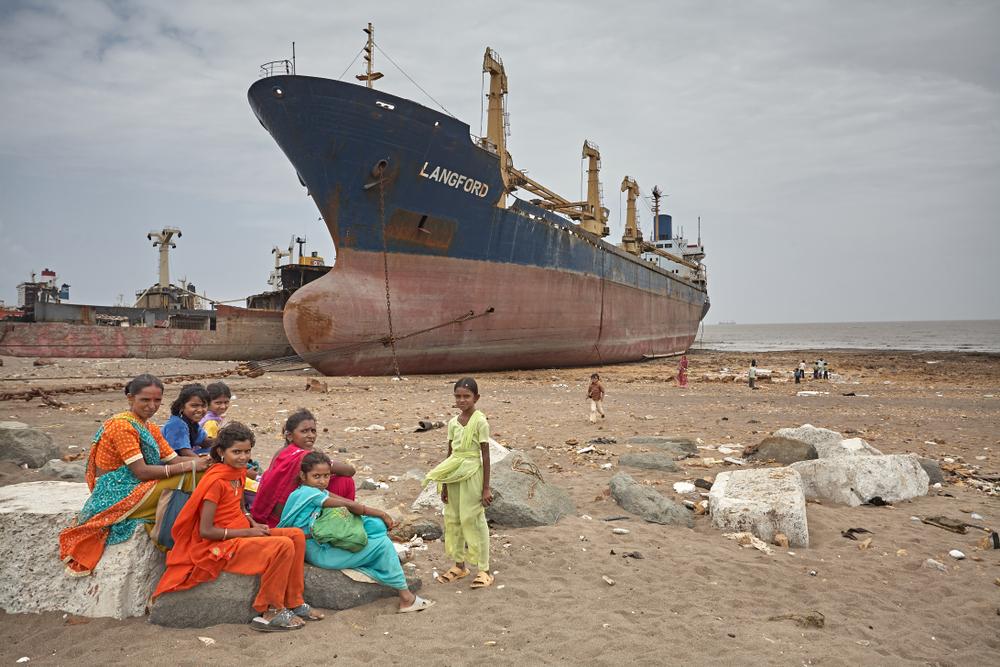 Cientos de barcos todos los años acaban en playas del sur de Asia/ Fuente: Salva Campillo