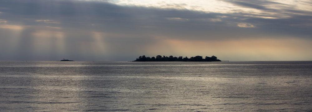 El Río de la Plata, en Argentina, al atardecer. | FOTO: Shutterstock