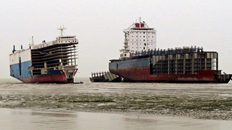 El insólito destino del 70% de los barcos del mundo