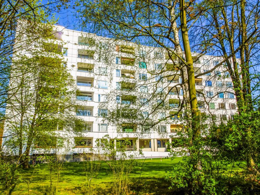 Edificio de viviendas en el barrio de la Hansa (Berlín), diseñado por Alvar Aalto FOTO Claudio Divizia