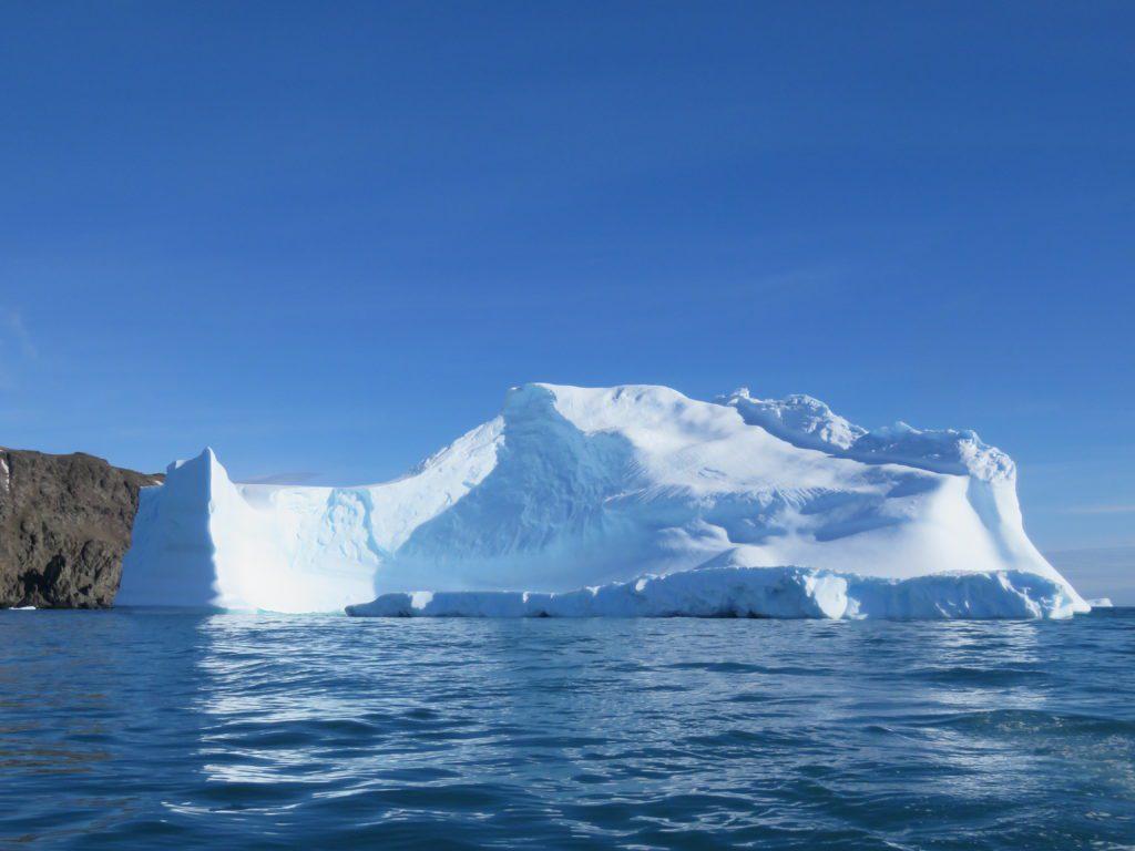 Iceberg en la Antártida. | FOTO: María Campos