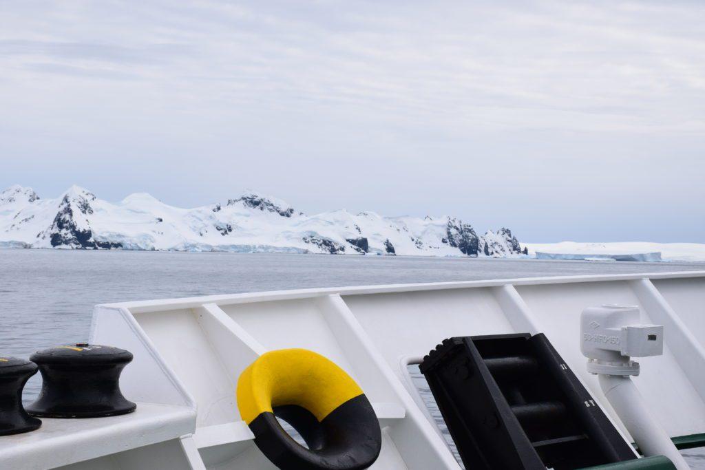 Cubierta del buque oceanográfico español Sarmiento de Gamboa, del CSIC