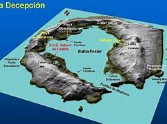 Entrada a la isla Decepción, en la Antártida, donde se encuentra la base de investigación española Gabriel de Castilla.