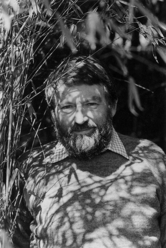 Retrato del escritor británico John Fowles. | FOTO: Fay Godwin