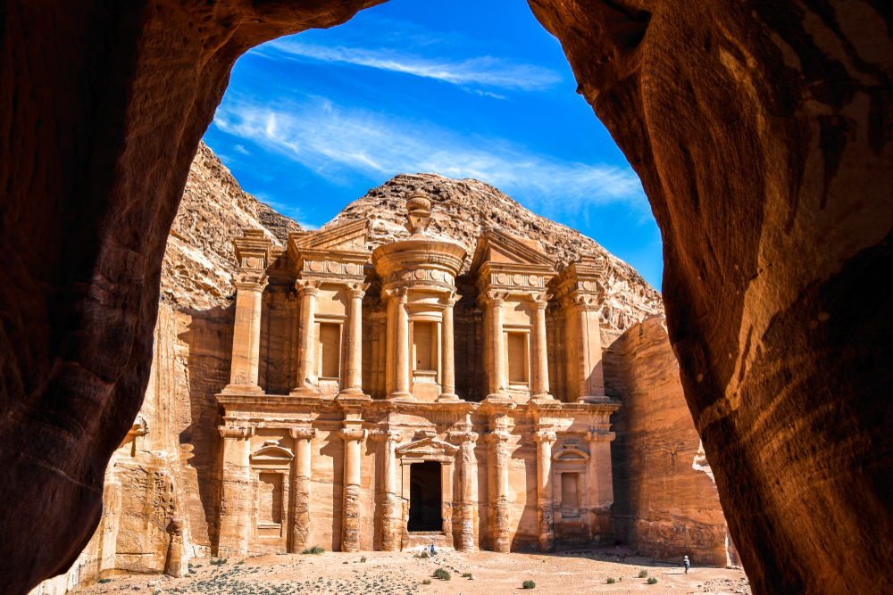Monasterio de Petra, Jordania, Patrimonio Mundial de la Humanidad por la UNESCO. | FOTO Tenkl