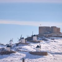 El calentamiento del vórtice polar, detrás de las nevadas de Filomena