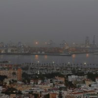 La calima sume a Canarias en la peor calidad del aire del mundo