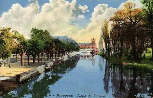 El Canal Imperial de Aragón, que se inició en tiempos de Carlos I y se terminó en el reinado de Carlos III. Es una muestra de gran altura de los regadíos del Ebro, y continúa siendo utilizado para la producción hortofrutícola.