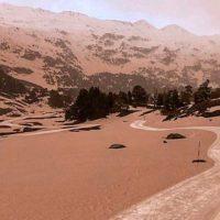 """""""Nieve roja"""" cubre el frente mediterráneo y tiñe los Pirineos"""