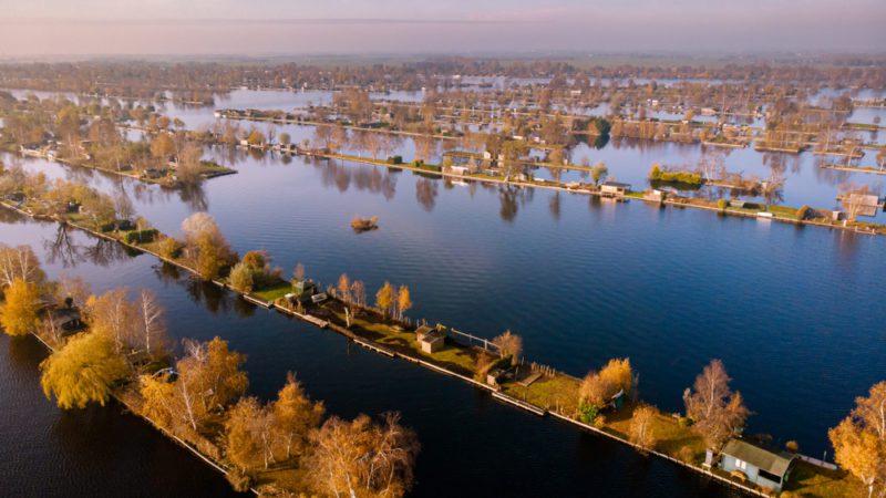 Holanda, un país levantado sobre el agua